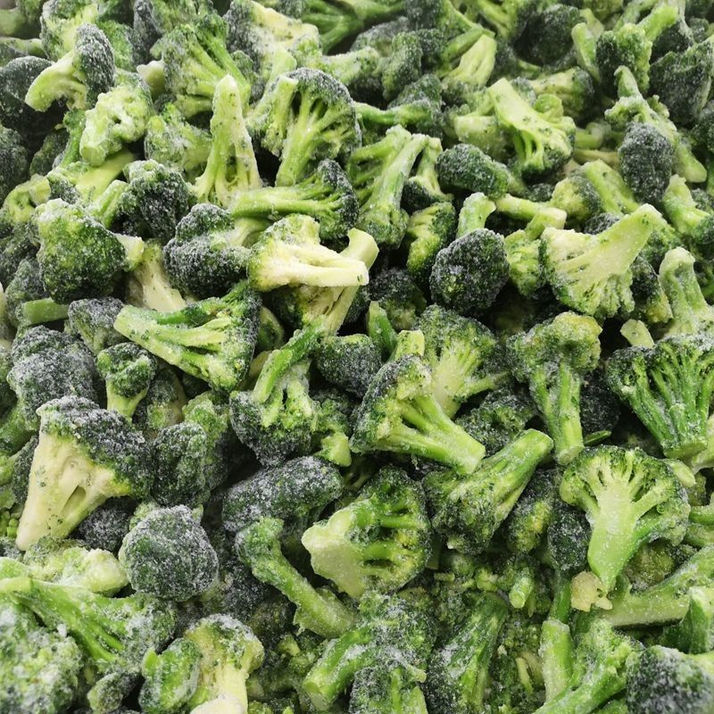Broccoli 5cm In Bulk Packing 1kgs IQF Frozen Vegetables